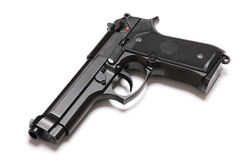 U.S. Army M9 modern handgun. Stock Photo
