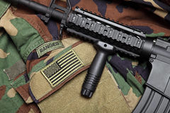U.S. Army Ranger Still Life Royalty Free Stock Image
