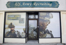 U.S. Army Recruiting Station in Lynbrook Royalty Free Stock Photos