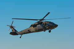 U.S. Army Sikorsky UH-60 Black Hawk helicopter Royalty Free Stock Image