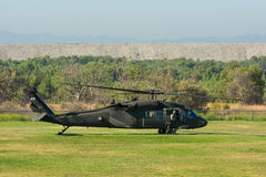 U.S. Army Sikorsky UH-60 Black Hawk helicopter Royalty Free Stock Images