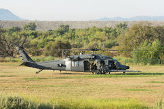 U.S. Army Sikorsky UH-60 Black Hawk helicopter Stock Photos