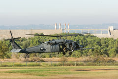 U.S. Army Sikorsky UH-60 Black Hawk helicopter Stock Photo