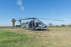 U.S. Army Sikorsky UH-60 Black Hawk helicopter Royalty Free Stock Photography