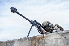 U.S. Army sniper Royalty Free Stock Photo