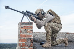U.S. Army sniper Royalty Free Stock Image