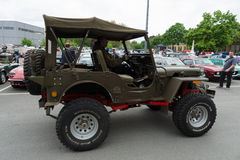 U.S. Army SUV since World War II Jeep Willys MB Royalty Free Stock Image