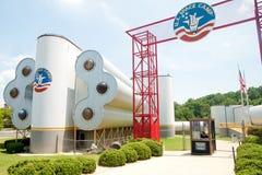 U.S. Astronautyczny Obóz obrazy royalty free