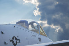 U.S. Avião de combate Imagem de Stock
