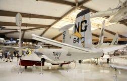 U S Avions de marine dans un musée Image stock