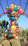 U.S.A., AZ: Mostra di Chihuly - candeliere di Polyvitro, 2006 Immagine Stock Libera da Diritti