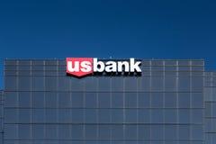 U S Bancorp-de Bouw Stock Afbeelding