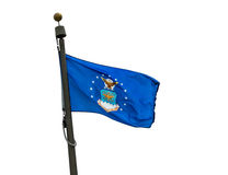 U S Bandeira da força aérea Imagem de Stock