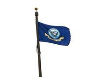 U S Bandera de la marina de guerra Foto de archivo libre de regalías