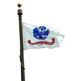 U S Bandera del ejército foto de archivo libre de regalías