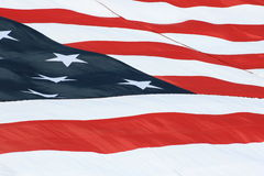 U.S. Bandierina Fotografie Stock
