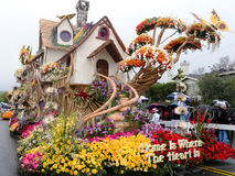 U.S. Bank's 2011 Rose Bowl Parade Float Stock Images