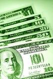 U.S. Bankbiljetten Royalty-vrije Stock Afbeeldingen