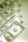 U.S. bankbiljetten; munt Stock Fotografie