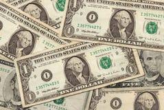 U.S. Banknoten Stockfotos