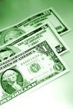 U.S. Banknoten/Papierwährung Stockbild