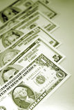 U.S. banknotes; currency Stock Photography