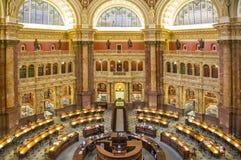U S Biblioteka Kongresu Zdjęcie Stock