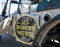 U.S. Border Patrol Vehicle. A United States Border Patrol off road vehicle in Tucson, Arizona Stock Images