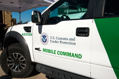 U.S. Border Patrol Vehicle. A United States Border Patrol vehicle in Tucson, Arizona Royalty Free Stock Photography