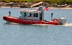 U.S. Bote patrulla del guardacostas Fotografía de archivo