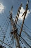 U S brzegowy orła strażnika s statek wysoki u Obrazy Stock
