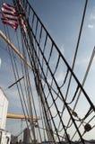 U S brzegowy orła strażnika s statek wysoki u Fotografia Royalty Free