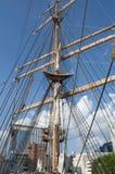 U S brzegowy orła strażnika s statek wysoki u Obrazy Royalty Free