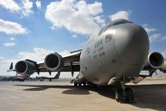 U.S. C-17 de BOEING da FORÇA AÉREA imagens de stock royalty free