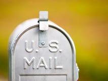 U.S. caja Fotografía de archivo libre de regalías