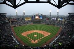 U.S. Campo celular - Chicago White Sox Imagem de Stock Royalty Free