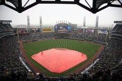 U.S. Campo celular - Chicago White Sox imágenes de archivo libres de regalías