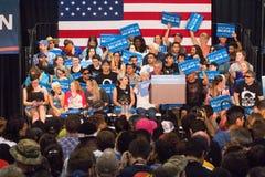 U S Candidat à la présidence Bernie Sanders Rally Photographie stock libre de droits