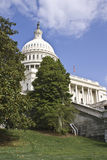 U.S.Capitol. U.S. Capitol building captured on sunny day royalty free stock photo