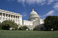 U.S.Capitol. U.S. Capitol building captured on sunny day royalty free stock images