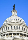 U. S. Capitol. Capitol building dome captured on sunny day royalty free stock photo