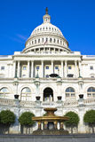 U.S.Capitol. U.S. Capitol building captured on sunny day and at a low angle stock photography