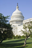 U. S. Capitol. Building captured on sunny day stock photo