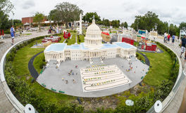U.S. Capital Building at Legoland Florida Le Stock Photography
