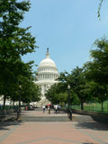 U.S. Capitol Building. The capital building of the United States of America in Washington DC Stock Images