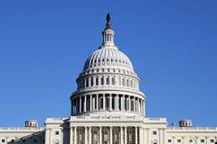 U.S. Capitol Building. In Washington D.C. against clear blue sky Stock Photo