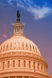 U.S. Capitol building with filter effect applied Royalty Free Stock Photography