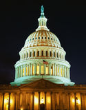 U.S. Capitol Building at night Royalty Free Stock Photography