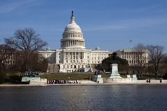 U. S. Capitol Builing Stock Photo