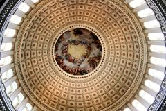 U.S. Capitol Dome interior Stock Photography